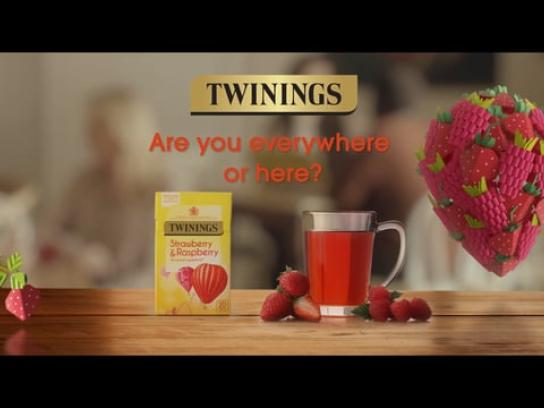 Twinings Digital Ad - The Natural Way to Colour Your Day, 1