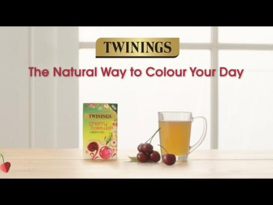 Twinings Digital Ad - The Natural Way to Colour Your Day , 2