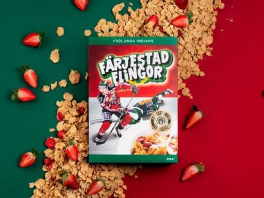 Frölunda Experiential Ad - Breakfast for champions