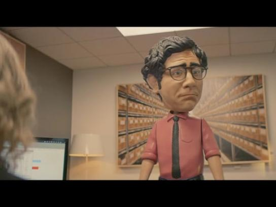 Hewlett Packard Enterprise Film Ad - No Bob