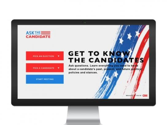 CNN Digital Ad - Ask The Candidates