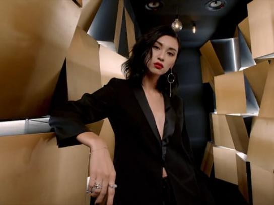 Yves Saint Laurent Film Ad - The Light Box