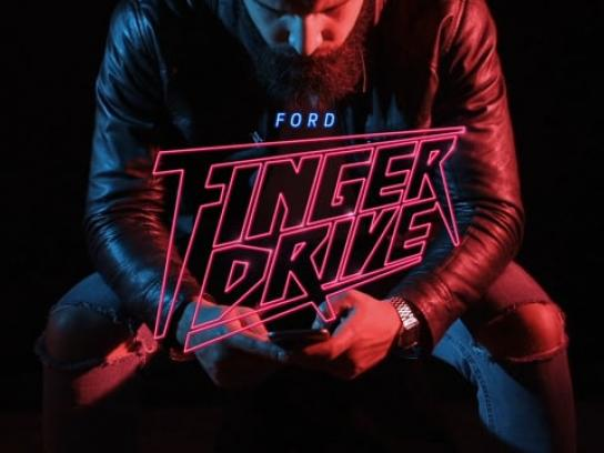 Ford Digital Ad - Finger Drive
