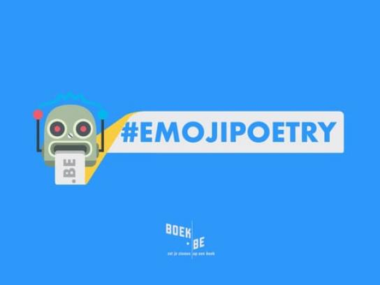 Boek.be Digital Ad - Emoji poetry