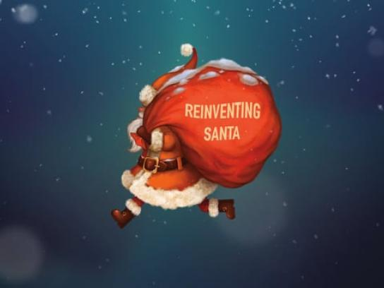 Bank of Georgia Digital Ad - Reinventing Santa