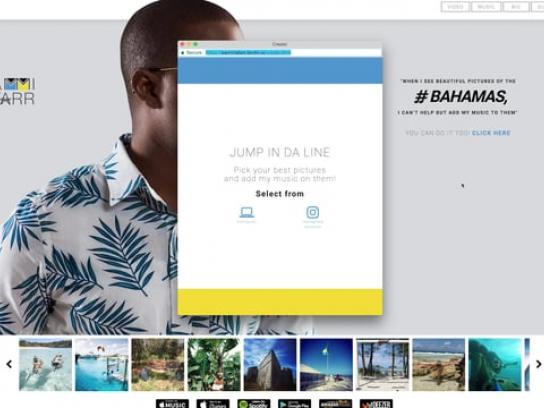 Bahamian Music Carnival Digital Ad - Your Best Bahamian Picture Deserves The Best Bahamian Song