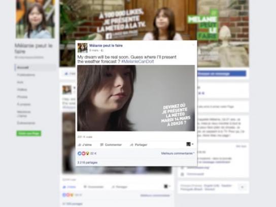 Unapei Digital Ad - Melanie Can Do It