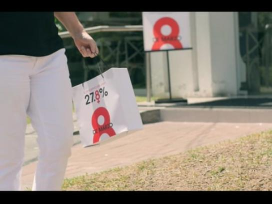 Scotiabank Experiential Ad - 27.8% The Fairest Discount