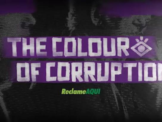 Reclame Aqui Digital Ad - The Colour of Corruption