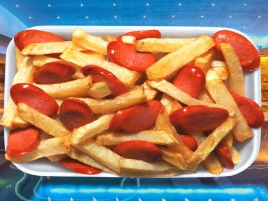 Tinka Lottery Film Ad - Sausage and Fries