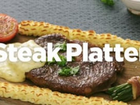 Lernia Digital Ad - Steak Platter