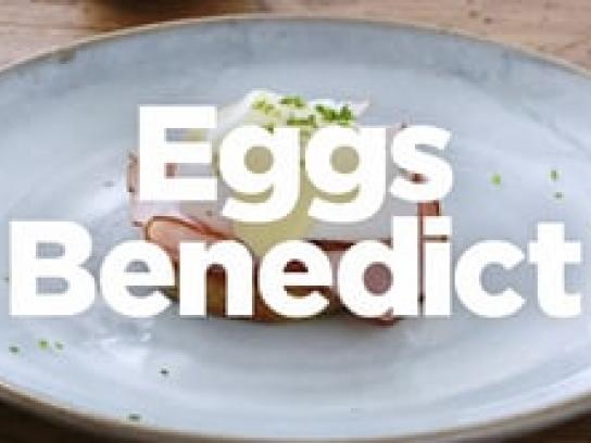 Lernia Digital Ad - Eggs Benedict