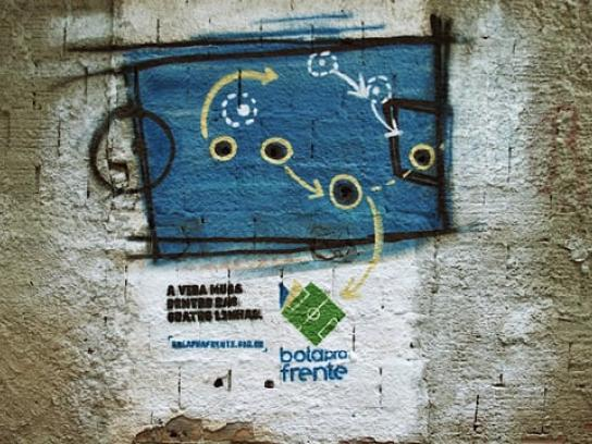 Instituto Bola Pra Frente Ambient Ad - Shots of Change
