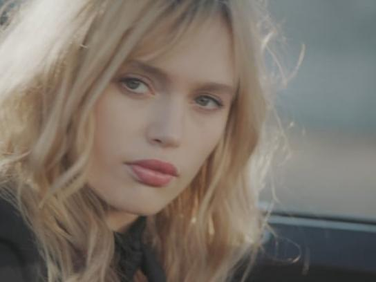 Yves Saint Laurent Digital Ad - On the road