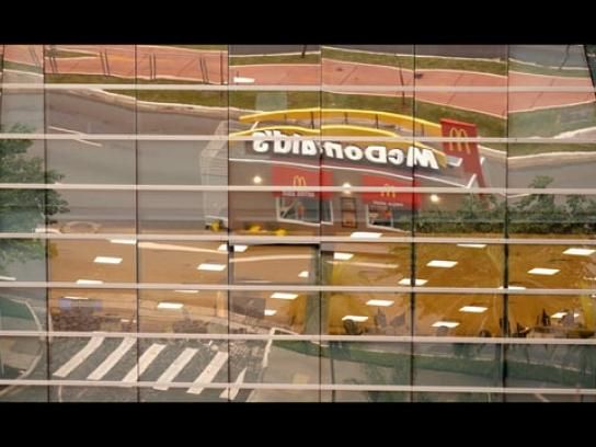 McDonald's Experiential Ad - Drive-Thruck