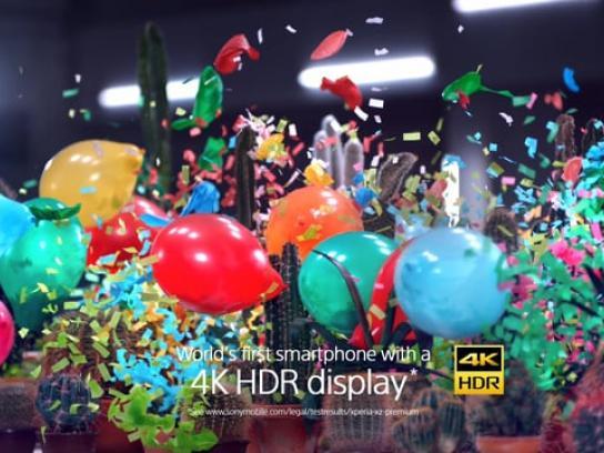 Sony Film Ad - Balloons vs. Cacti