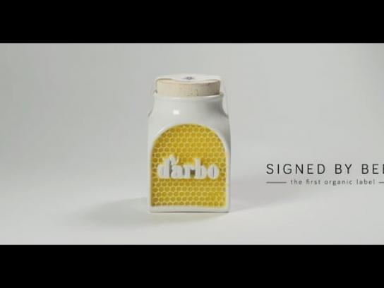 d'arbo Film Ad - Signed by bees