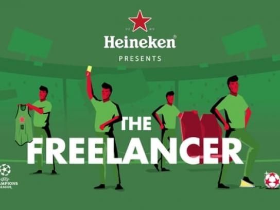 Heineken Film Ad - The Freelancer