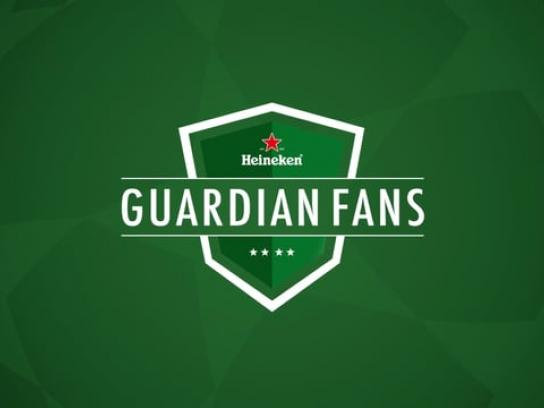 Heineken Digital Ad - Guardian Fans