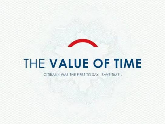 Citibank Film Ad - Save Time