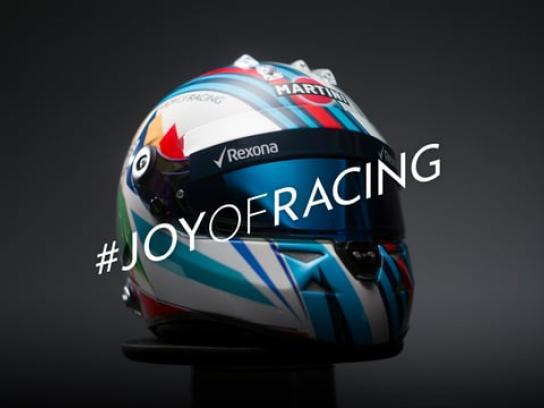 Martini Design Ad - #JoyOfRacing
