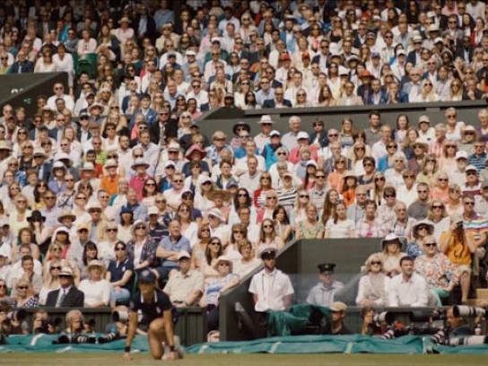 Champagne Lanson Film Ad - Wimbledon