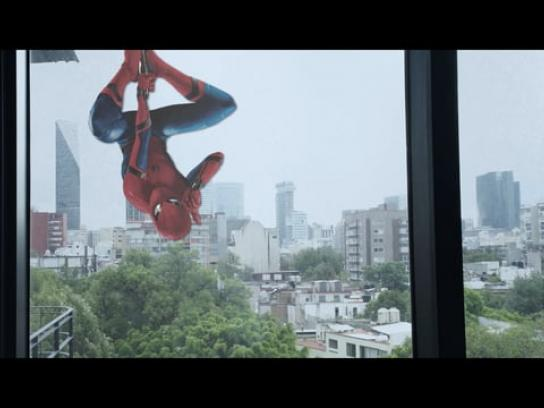 Sony Pictures Experiential Ad - Spider Bomb