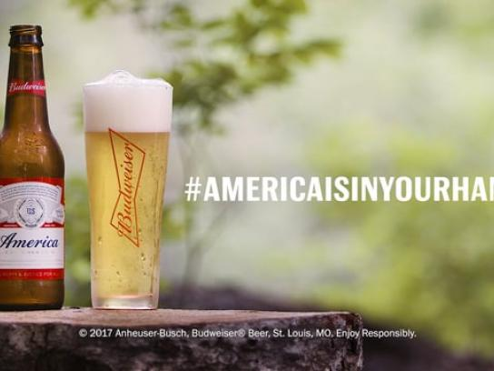 Budweiser Content Ad - America is in Your Hands