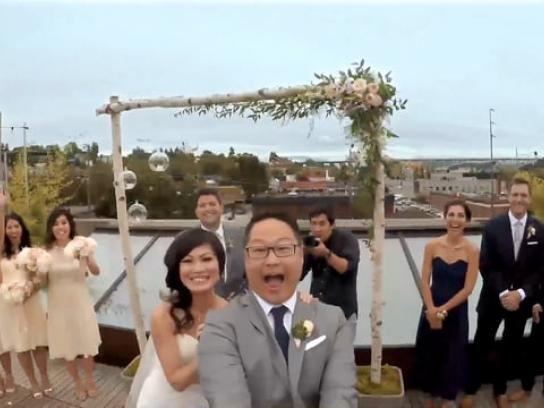 Commerce Bank Film Ad - Wedding