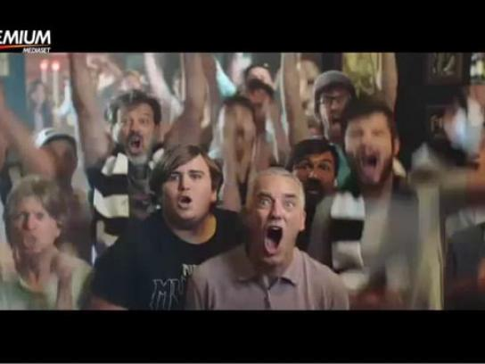 Mediaset Premium Film Ad - Football makes you happy? Watch it then.