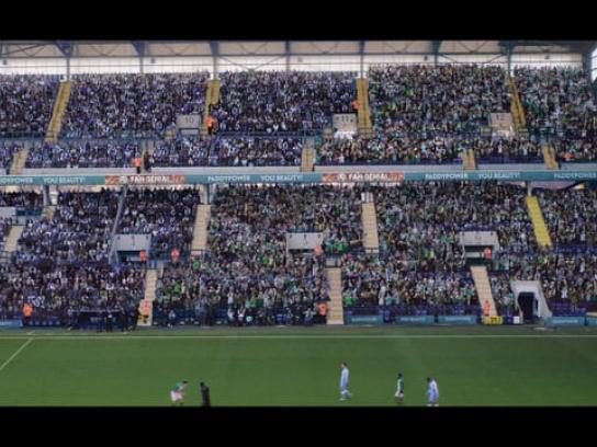 Paddy Power Film Ad - Away Day Footy Fan