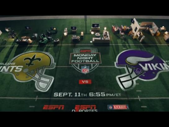 ESPN Film Ad - Monday Night Football Returns September 11