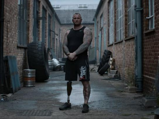 Worlds Strongest Disabled Man Content Ad - Strongman