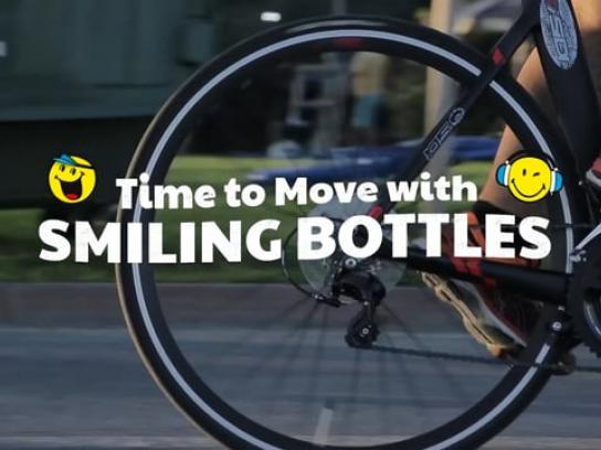 Nestle Integrated Ad - Time to Move with Smiling Bottles