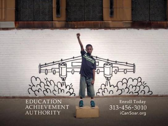 Education Achievement Authority Film Ad -  Wings
