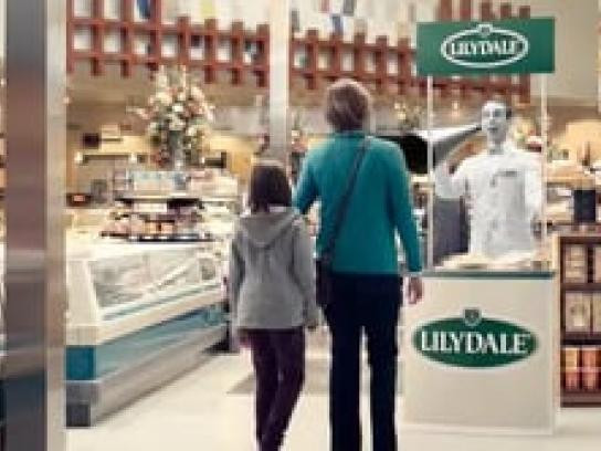 Lilydale Film Ad -  Proudly Stuck in the past, Supermarket