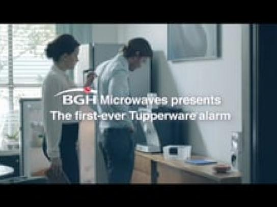 BGH Film Ad -  Meals That Need an Alarm, The Big Steal