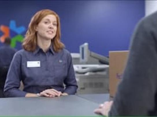 FedEx Film Ad -  Santa