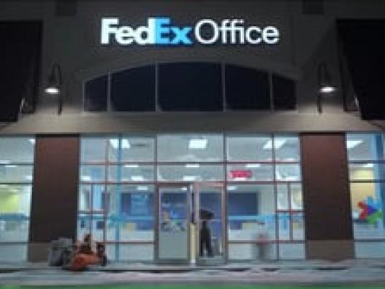FedEx Film Ad -  Camp Out