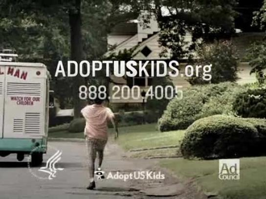 AdoptUSKids Film Ad -  Ice cream