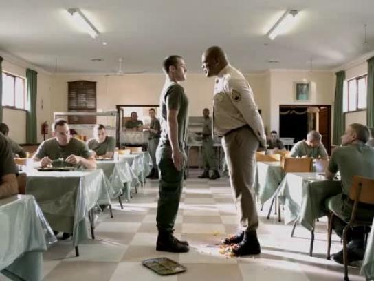 Clorets Film Ad -  Sergeant
