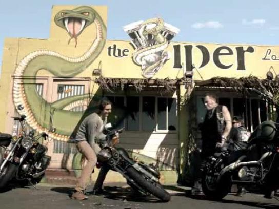 Clorets Film Ad -  Biker