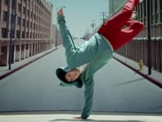 Fruit of the Loom Film Ad -  Breakdance