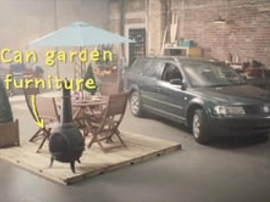 Morrisons Film Ad -  Can garden furniture fuel a car?