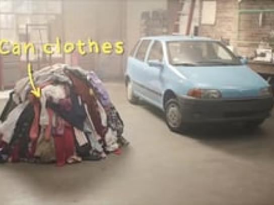 Morrisons Film Ad -  Can clothes fuel a car?