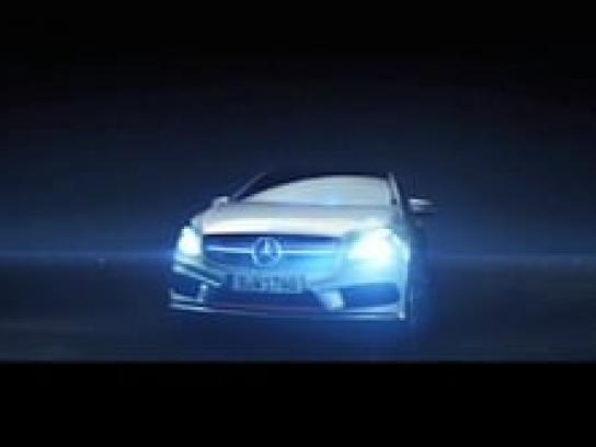 Mercedes Digital Ad -  Behind the Sites