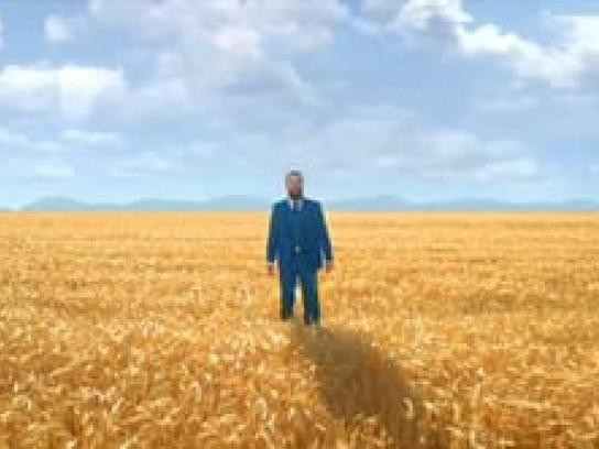 NFL Film Ad -  Wheat Field