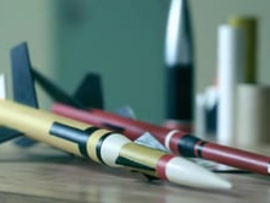 Blue Sky Bridge Film Ad -  Model Rockets