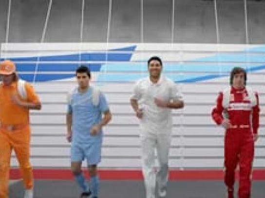 "Puma Film Ad -  ""Last Man Running"""