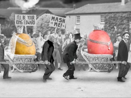 Tyrrells Crisps Film Ad - Very Important Potatoes